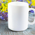 blanco · taza · de · café · crisantemo · vacío · taza - foto stock © tasipas