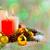 燃焼 · キャンドル · クリスマスツリー · ぼけ味 · クリスマス · 装飾 - ストックフォト © tasipas