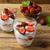 frescos · fresa · yogurt · vainilla · plata · cuchara - foto stock © tasipas