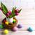 Пасху · таблице · стороны · окрашенный · яйца · гнезда - Сток-фото © TasiPas