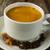 koffiekopje · witte · kleur · beker · plaat - stockfoto © tasipas