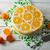 gyümölcs · joghurt · torta · desszert · gyümölcsök · menta - stock fotó © tasipas