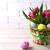 Пасху · таблице · розовый · Tulip · пастельный · цвета - Сток-фото © TasiPas