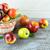 olgun · sonbahar · meyve · ahşap · sepet · tok - stok fotoğraf © tasipas