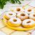 homemade hanukkah sweet donuts with caster sugar stock photo © tasipas