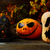 zucca · di · halloween · buio · rustico · halloween · simbolo · fuoco - foto d'archivio © tasipas