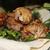 tavuk · pide · ekmek · restoran · yeşil · sıcak - stok fotoğraf © tatiana3337