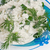 fresh cottage cheese and fennel on a plate stock photo © tatik22