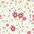 különböző · virágok · végtelen · minta · repetitív · citromsárga · illusztráció - stock fotó © tatik22