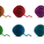 birkaç · tığ · işi · turuncu · yeşil · kumaş - stok fotoğraf © tatik22