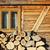lenha · madeira · preparado · lareira · velho · para · cima - foto stock © taviphoto