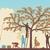 elma · ağacı · siluet · beyaz · düzenlenebilir · gökyüzü · doğa - stok fotoğraf © tawng
