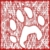 grunge · pata · impresión · vector · perro · diseno - foto stock © tawng
