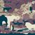 veado · aves · vetor · colorido · natureza · folha - foto stock © tawng