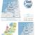 harita · bayrak · Hollanda · arka · plan · mavi · seyahat - stok fotoğraf © tele52
