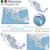 mapa · México · bandeira · Estados · Unidos · administrativo · cidade - foto stock © tele52