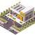 vettore · basso · città · ufficio · costruzione · costruzione - foto d'archivio © tele52
