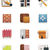 house renovation icon set part 1 stock photo © tele52