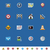 gps · navigatie · iconen · mobiele · vak - stockfoto © tele52