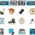 jégkorong · ikon · gyűjtemény · webes · ikonok · felhasználó · interfész · terv - stock fotó © tele52