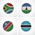flagi · kraje · tkaniny · odznaki · zestaw · szczegółowy - zdjęcia stock © tele52