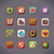 vector flat gambling icons stock photo © tele52