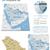 saudi arabia maps with markers stock photo © tele52