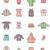 bebé · ropa · iconos · de · la · web · usuario · interfaz - foto stock © tele52