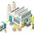 ビジネス · オフィス · 商業ビル · ベクトル · アイソメトリック · 実例 - ストックフォト © tele52