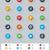 要素 · セット · 単純な · アイコン - ストックフォト © tele52