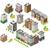 vector · isometrische · stad · gebouwen · laag - stockfoto © tele52