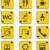 vector roadside services signs icon set part 1 stock photo © tele52