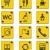 ikon · szett · jelzőtáblák · izolált · fehér · háttér · csoport - stock fotó © tele52