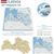 latvia maps with markers stock photo © tele52