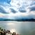 небесный · мнение · облака · звезды · луна - Сток-фото © tepic