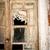 ív · fából · készült · mediterrán · ajtó · ház · textúra - stock fotó © tepic