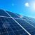 Solar Panel with Sun stock photo © tepic
