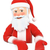 3d santa claus pointing down blank space stock photo © texelart