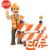 3D · munkás · stoptábla · építkezés · dolgozik · emberek - stock fotó © texelart
