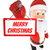 3D · witte · mensen · kerstman · banner · lint - stockfoto © texelart