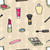 Cartoon Cosmetics Seamless Background stock photo © Theohrm