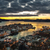 ночь · город · Норвегия · мнение · закат · морем - Сток-фото © thomland