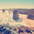 doze · Austrália · pôr · do · sol · praia · água · mar - foto stock © thp