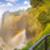 川 · 煙 · 滝 · アフリカ · 国境 - ストックフォト © thp