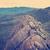 Wanderer · Berg · top · Frau · genießen · Ansicht - stock foto © thp