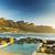 doze · pôr · do · sol · África · do · Sul · praia · céu · natureza - foto stock © THP