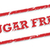 Sugar Free Rubber Stamp stock photo © THP