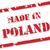 Lengyelország · grunge · ikon · narancs · pecsét · fehér - stock fotó © thp