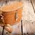 öreg · klasszikus · bőrönd · fa · asztal · utazás · öltöny - stock fotó © thp