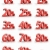 Red Percent Tags stock photo © ThreeArt